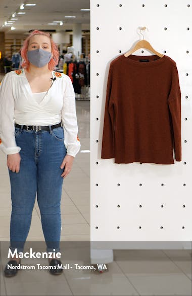 Tara Cashmere & Wool Sweater, sales video thumbnail