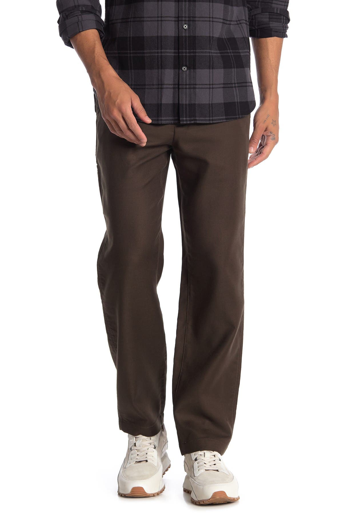 Image of Vince Solid Utility Chino Pants