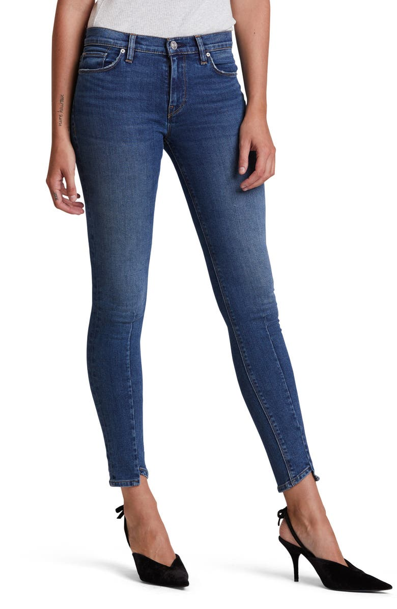HUDSON JEANS Nico Super Skinny Jeans, Main, color, NOWHERE