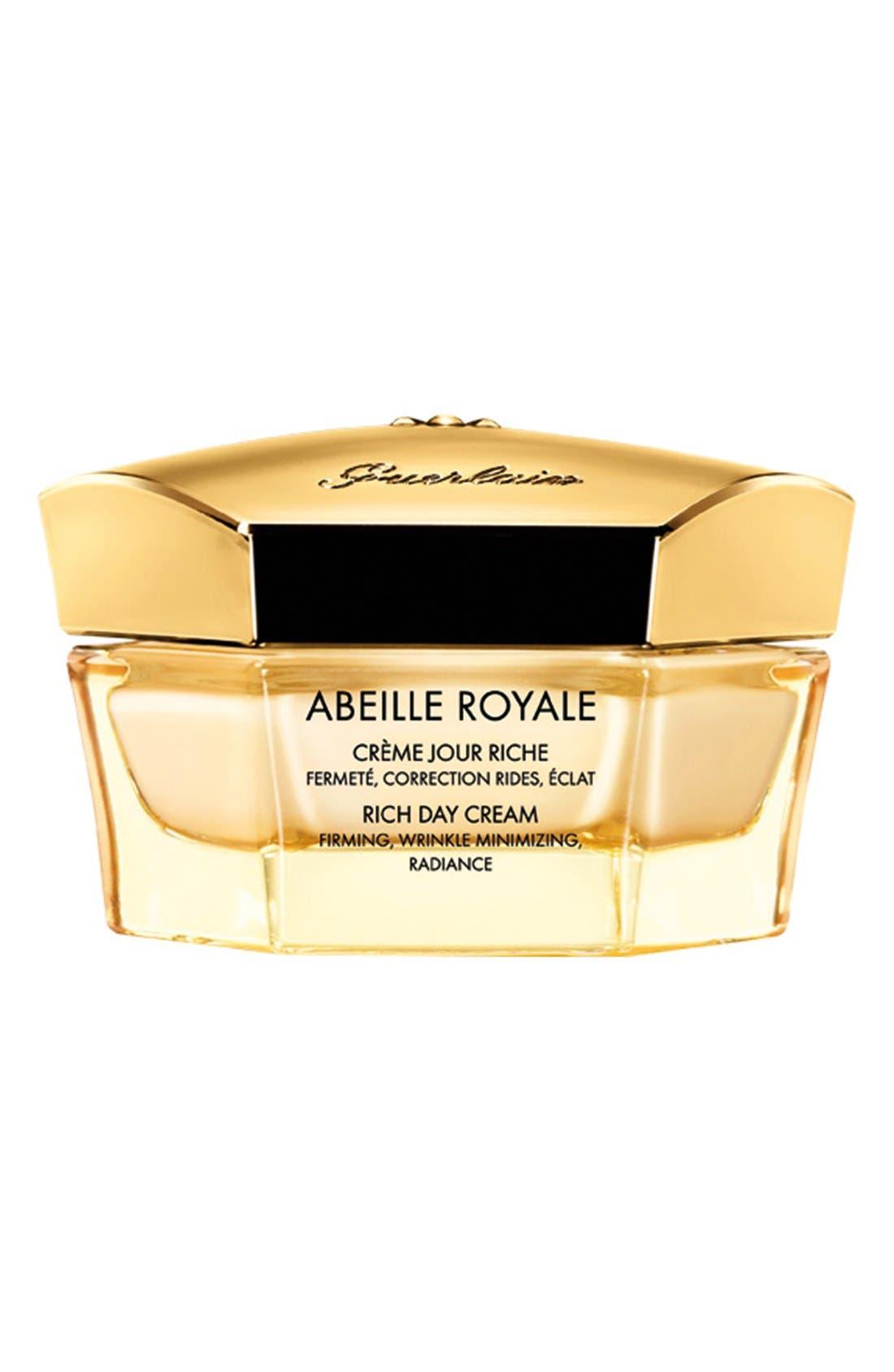 ,                             Abeille Royale Rich Day Cream,                             Main thumbnail 1, color,                             NO COLOR