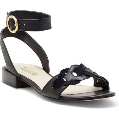 Louise Et Cie Arstan Ankle Strap Sandal, Black