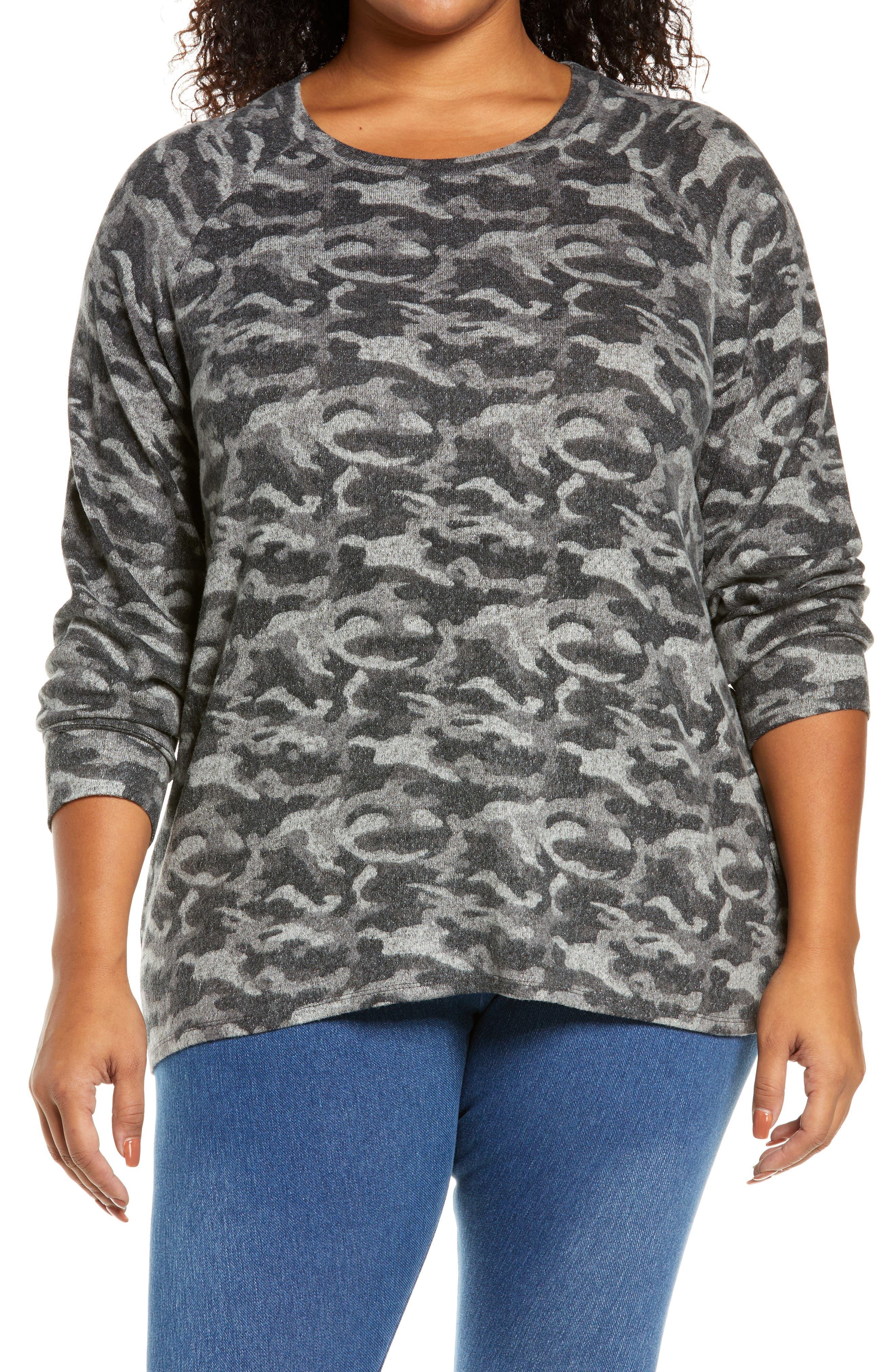 Split Back Cozy Pullover