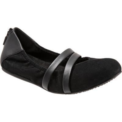 Softwalk Sierra Flat, Black