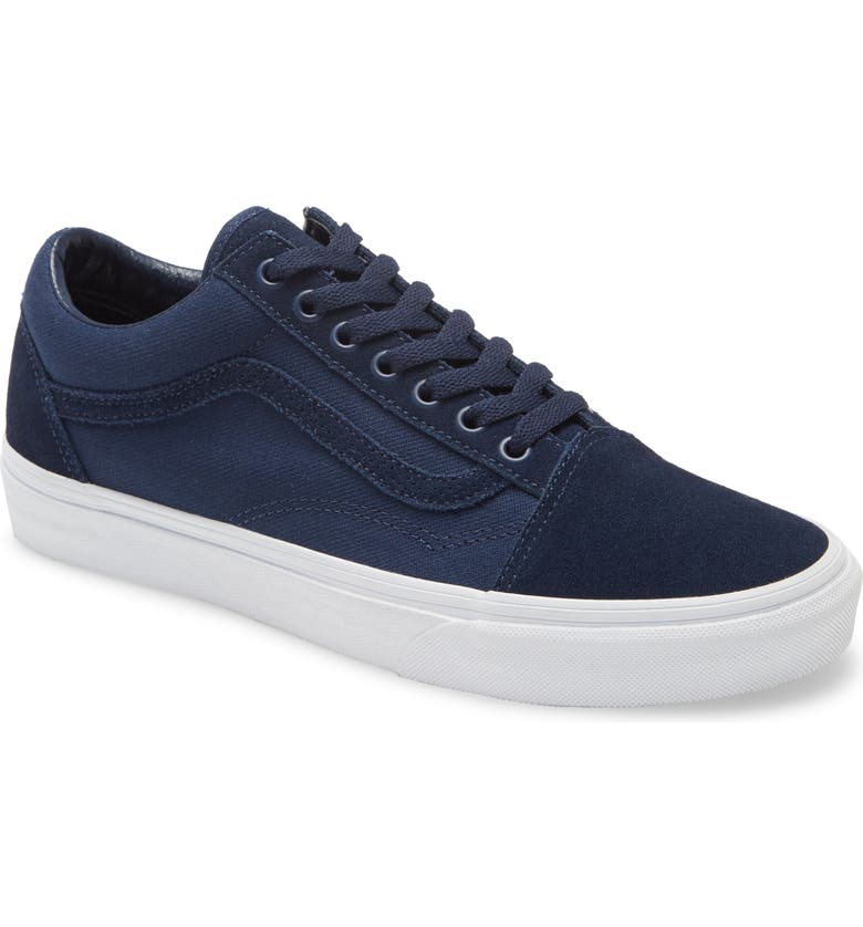 VANS Old Skool Sneaker, Main, color, DRESS BLUES/ TRUE WHITE