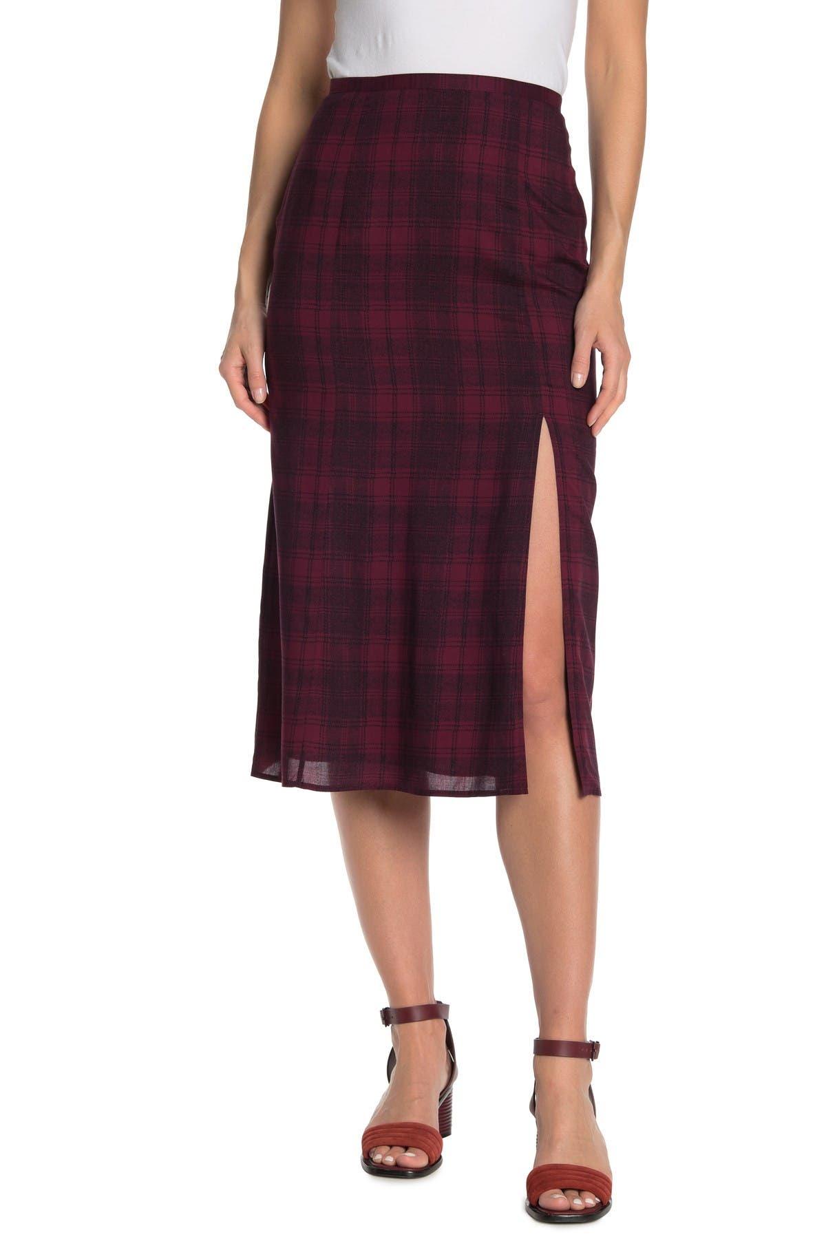 Image of PAIGE Delfina Midi Skirt