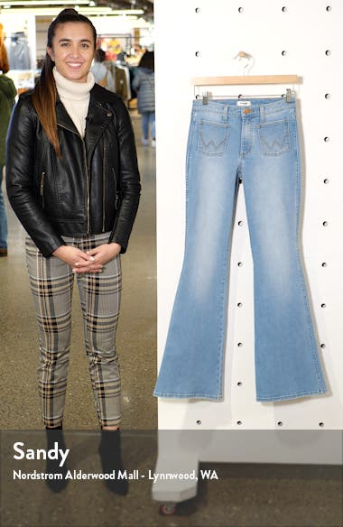 Patch Pocket Flare Jeans, sales video thumbnail