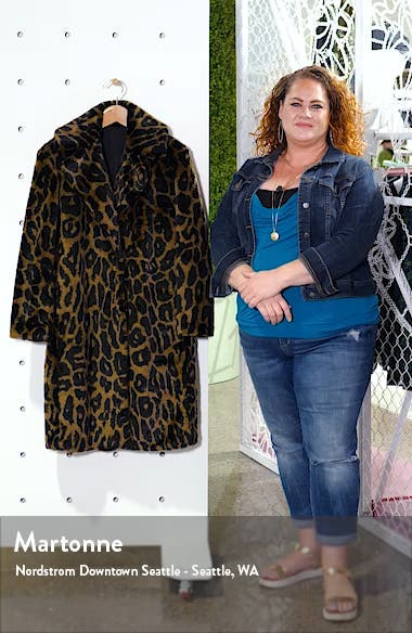 Reversible Water Resistant Faux Fur Coat, sales video thumbnail