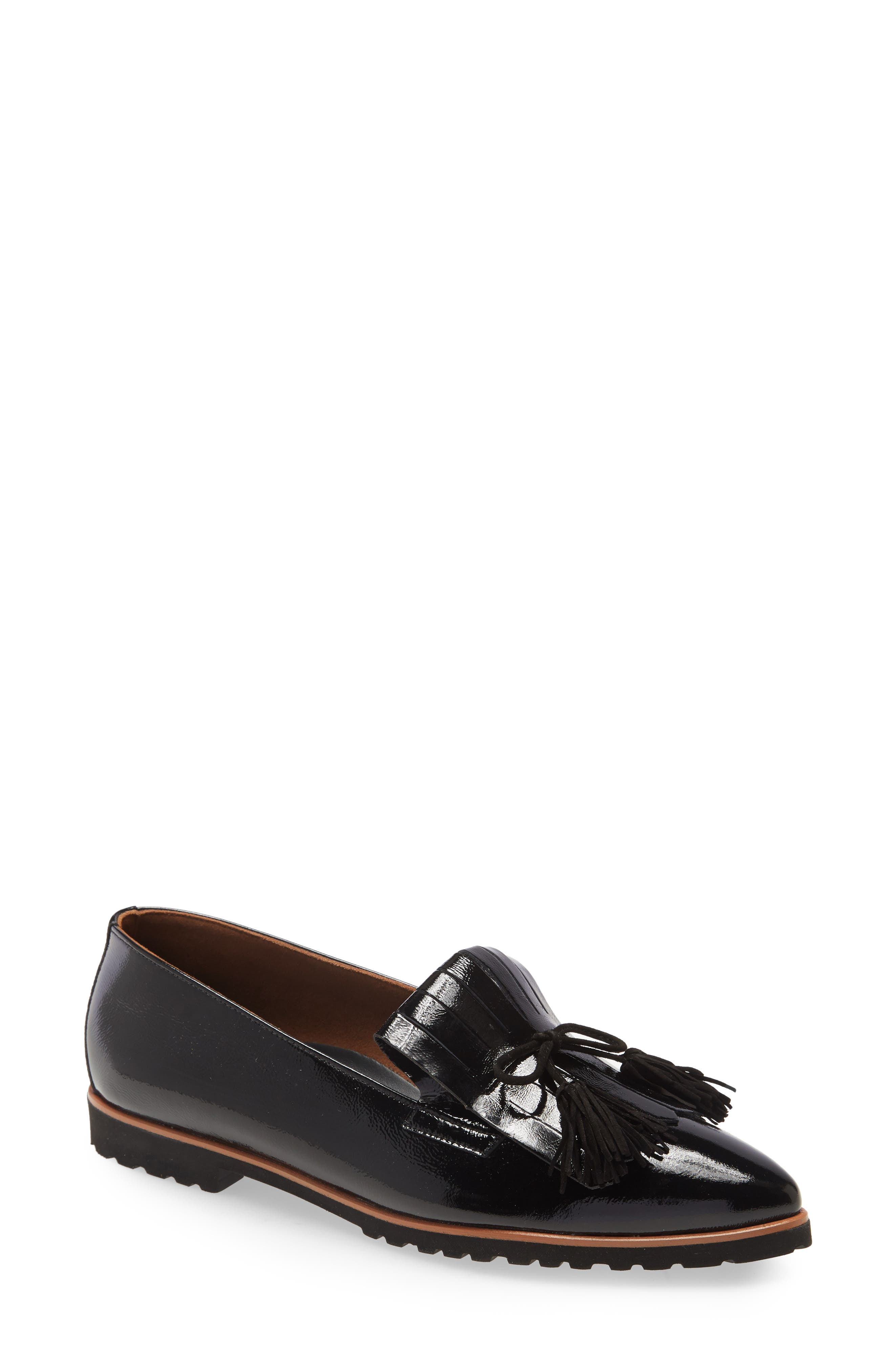 Image of Paul Green Diana Kiltie Fringe Pointed Toe Loafer