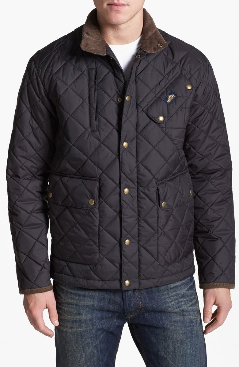 PENFIELD 'Colwood' Quilted Trail Jacket, Main, color, 001