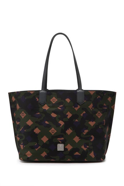 Image of MCM Viseto Camo Tote Bag