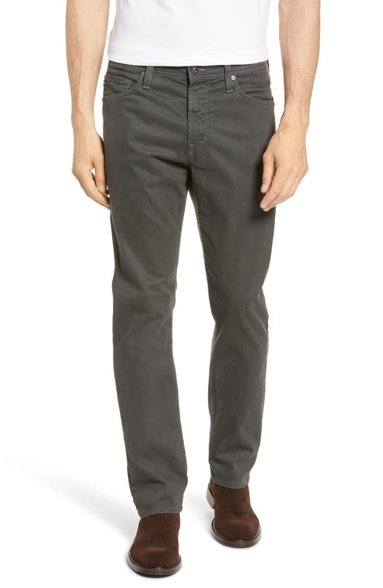 AG Everett SUD Slim Straight Leg Pants, Main, color, MICRO GEO CARBO
