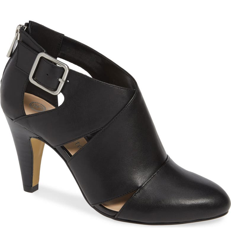BELLA VITA Nicolina Pump, Main, color, BLACK LEATHER