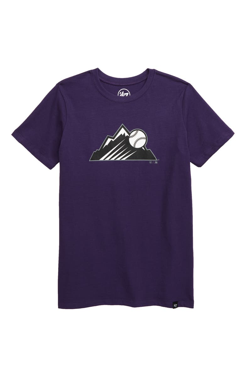 '47 Super Rival Colorado Rockies T-Shirt, Main, color, 500