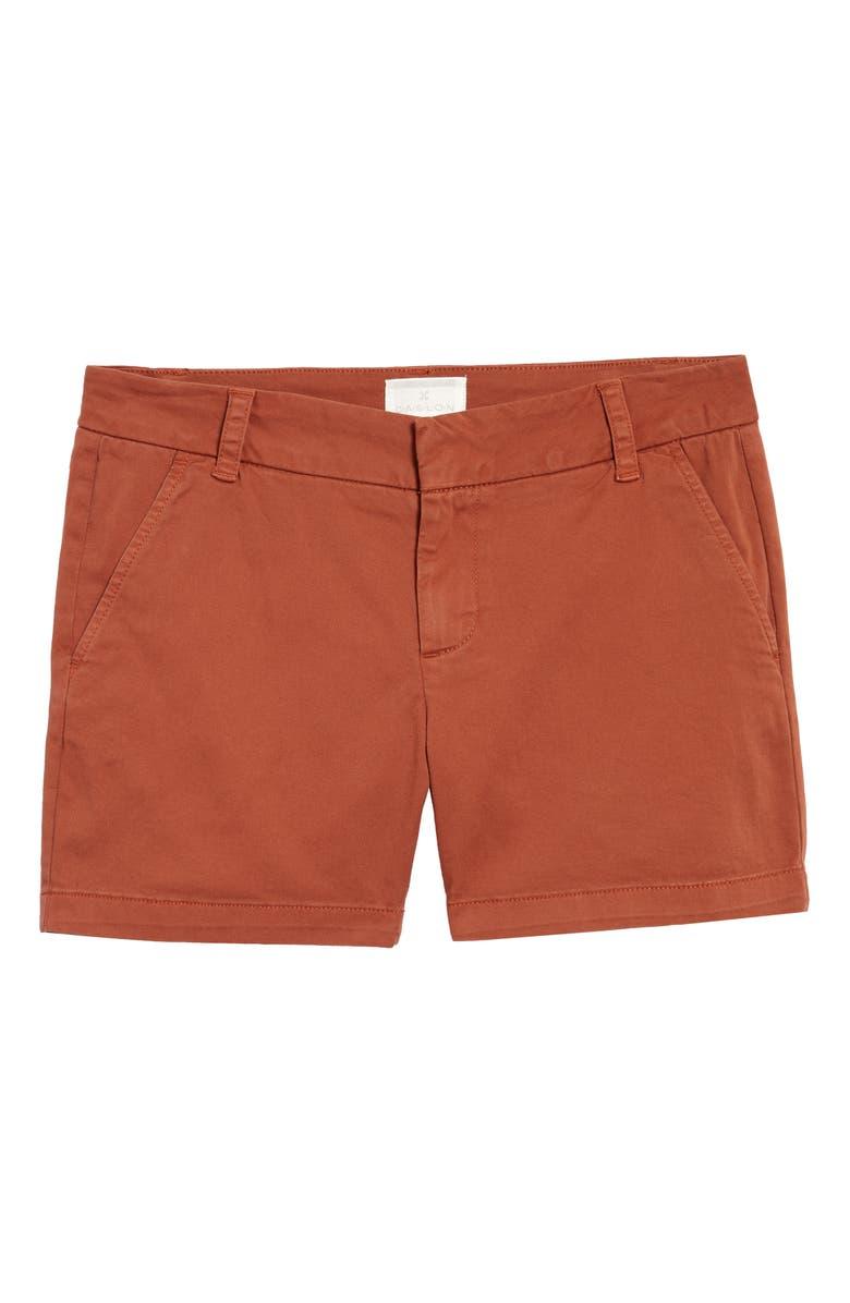 CASLON<SUP>®</SUP> Cotton Twill Shorts, Main, color, 201
