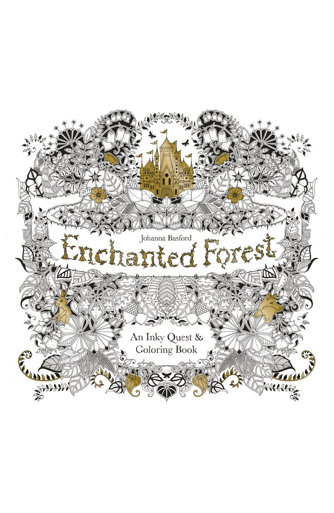 - Enchanted Forest' Coloring Book Nordstrom