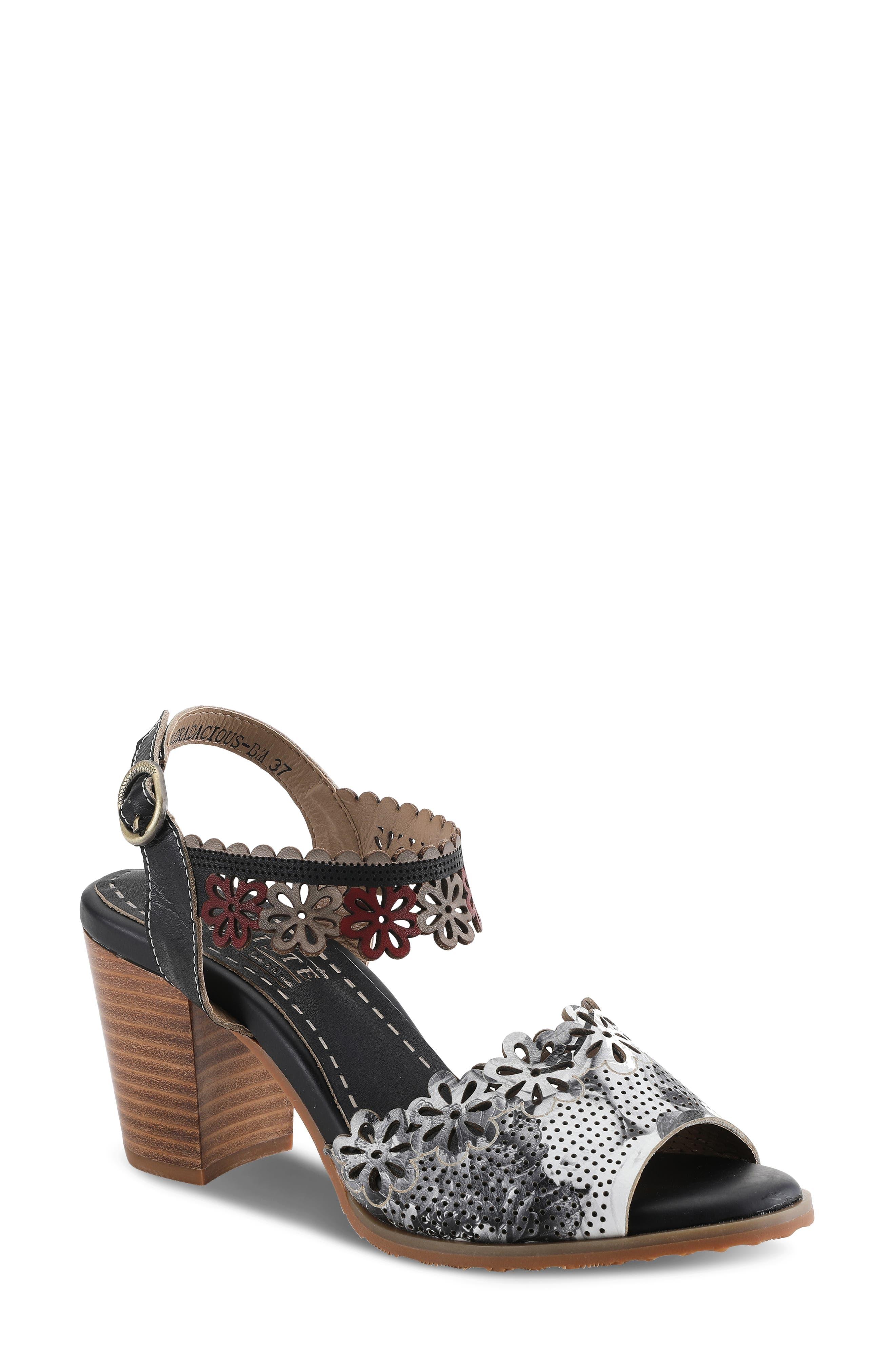 By Spring Step Floradacious Sandal
