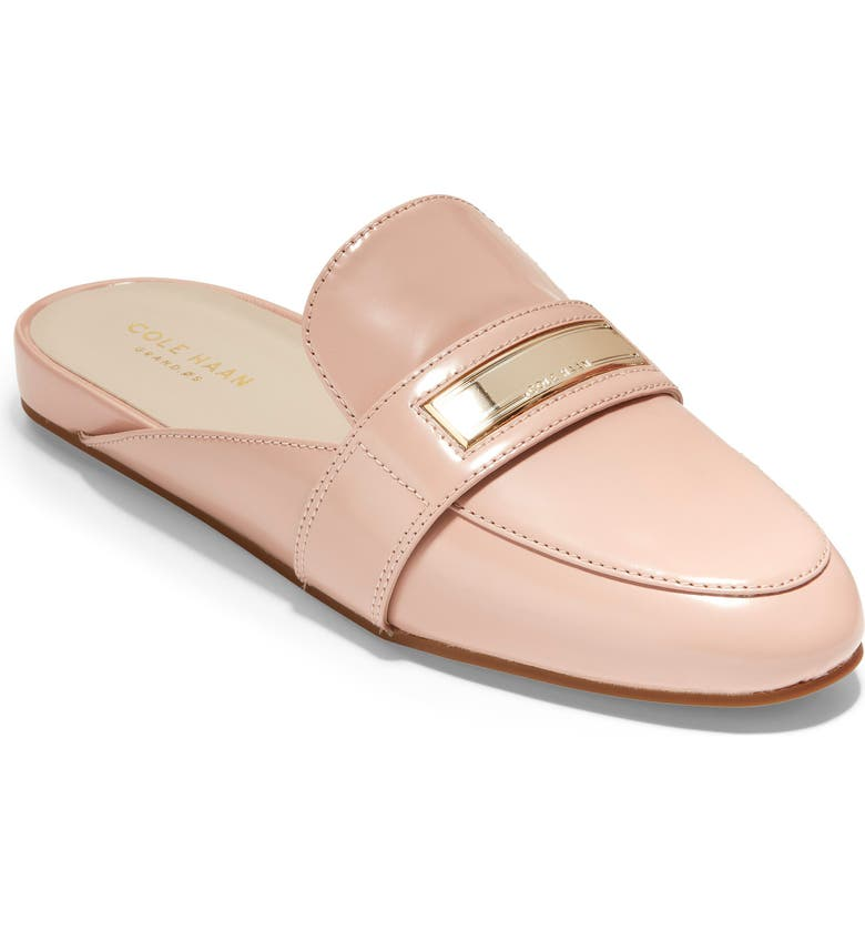 COLE HAAN Aria Mule, Main, color, MAHOGANY ROSE LEATHER
