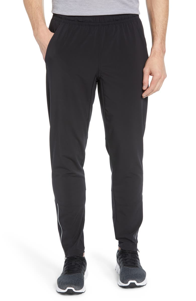 ZELLA Core Stretch Woven Pants, Main, color, BLACK