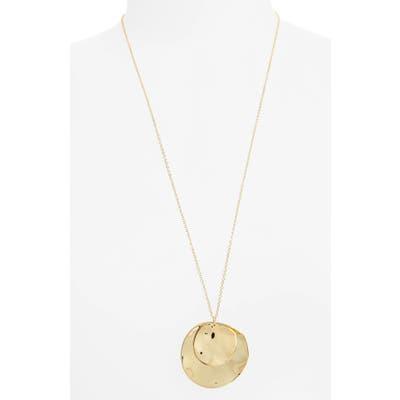 Gorjana Chloe Long Cluster Pendant Necklace