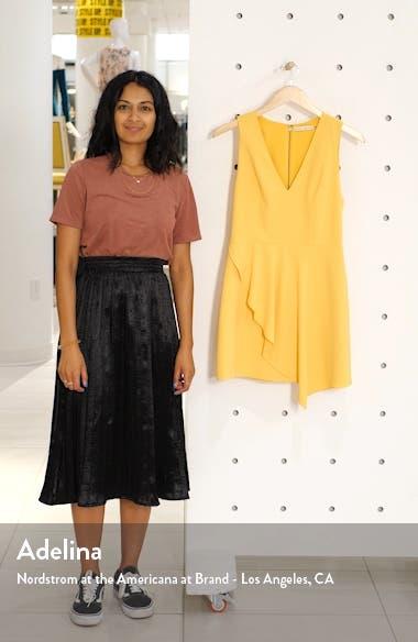 Callie Asymmetrical Minidress, sales video thumbnail