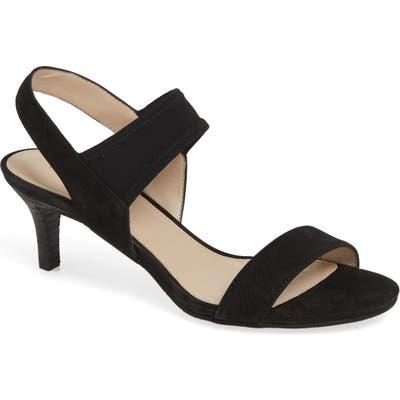 Pelle Moda Raye Sandal- Black