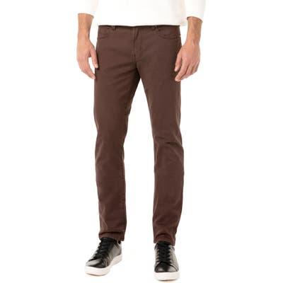 Liverpool Kingston Slim Straight Leg Jeans, Metallic