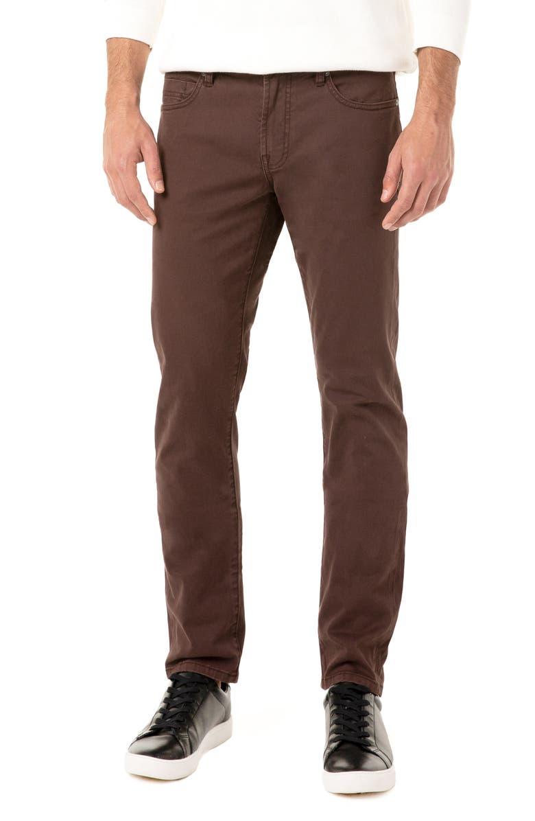 LIVERPOOL Kingston Slim Straight Leg Jeans, Main, color, PORTER