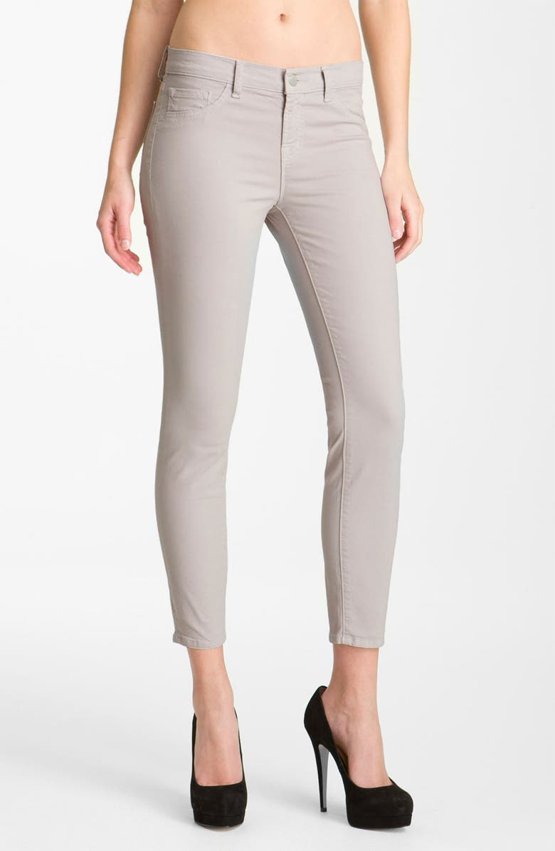 J BRAND Overdyed Skinny Jeans, Main, color, 020
