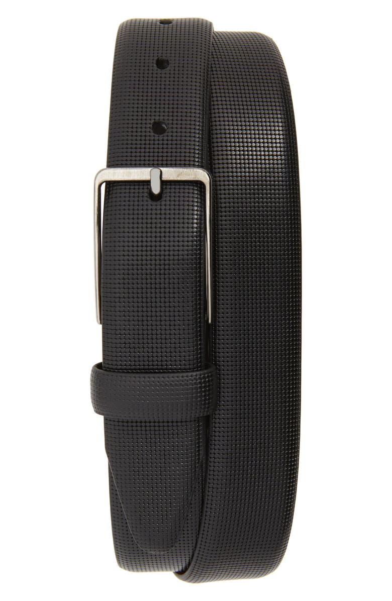 Johnston Murphy Mini Embossed Leather Belt