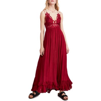 Free People Adella Maxi Slipdress, Pink