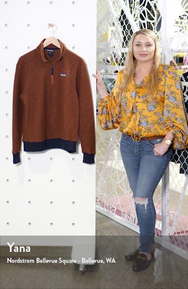 Woolyester Fleece Quarter Zip Pullover, sales video thumbnail