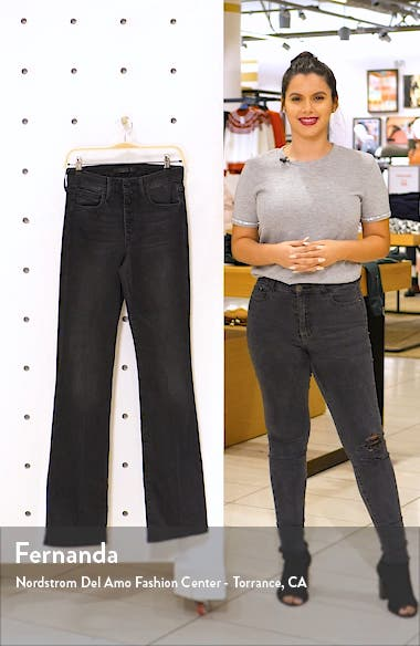 The Hi Rise Honey High Waist Curvy Bootcut Jeans, sales video thumbnail