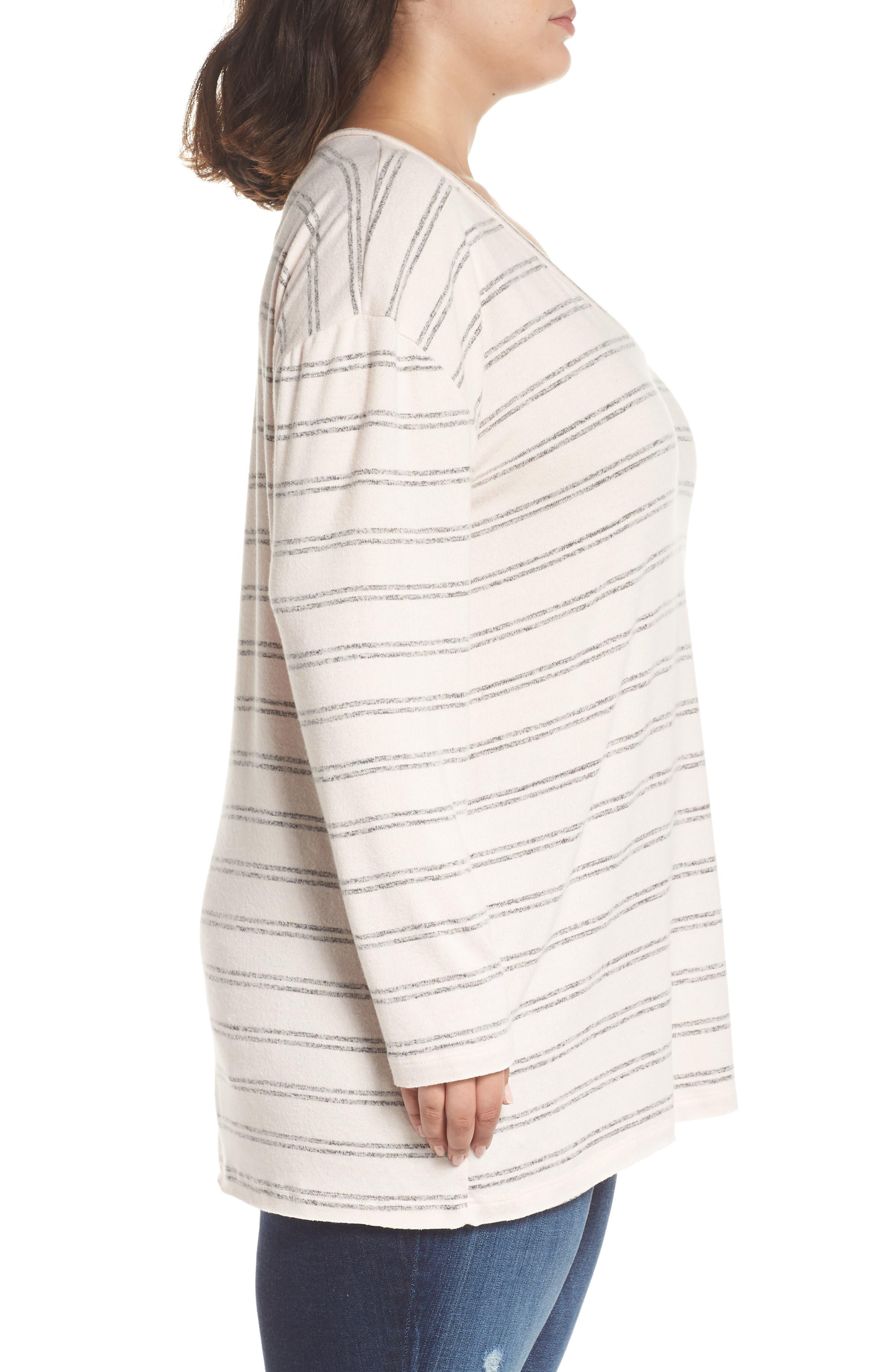,                             Cozy V-Neck Sweater,                             Alternate thumbnail 26, color,                             660