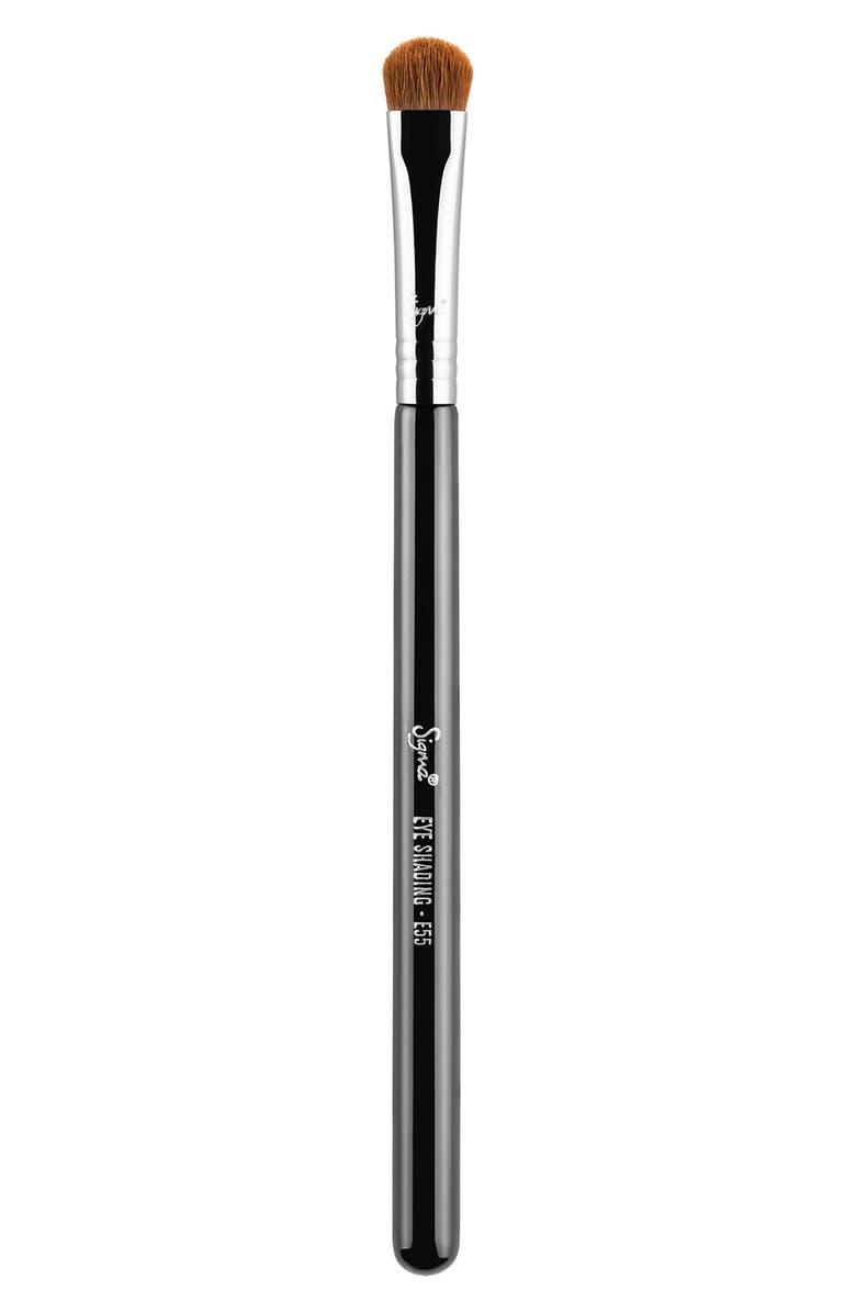 SIGMA BEAUTY E55 Eye Shading Brush, Main, color, NO COLOR