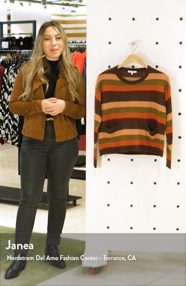 Striped Pocket Pullover, sales video thumbnail