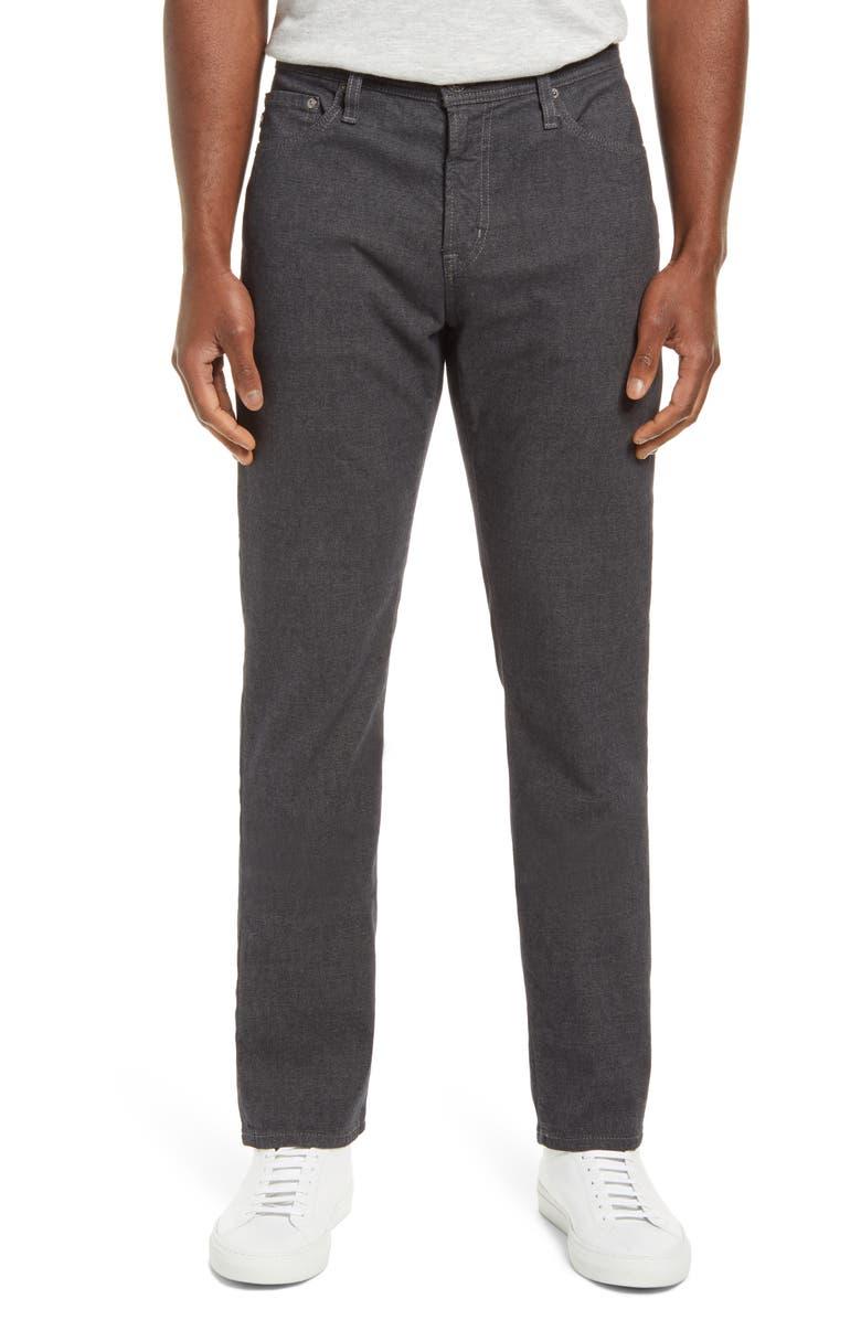 AG Everett Slim Straight Leg Pants, Main, color, ASH SMOKE