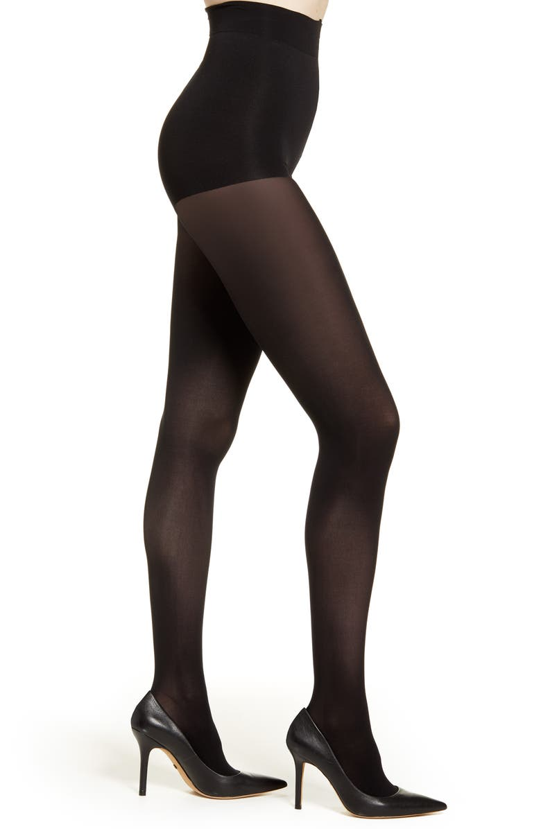 NATORI 2-Pack Perfectly Opaque Tights, Main, color, 001