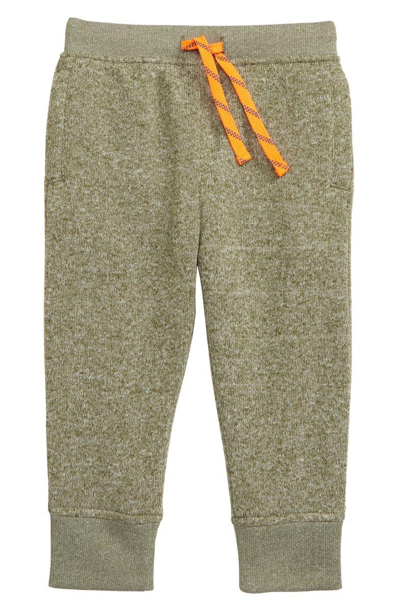 CREWCUTS BY J.CREW Summit Fleece Pants, Main, color, MILITARY GREEN