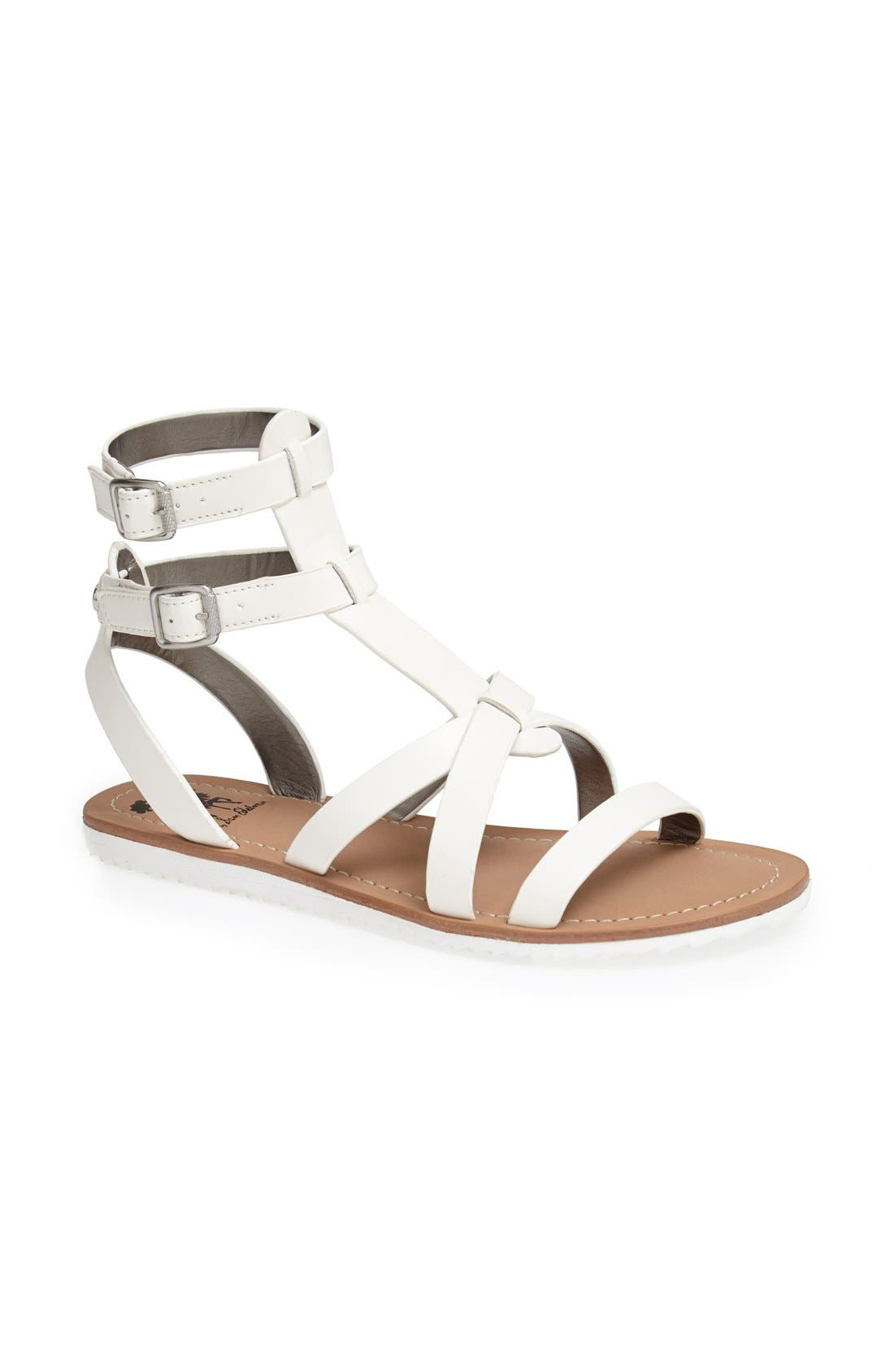 ,                             'Selma' Gladiator Sandal,                             Main thumbnail 9, color,                             100