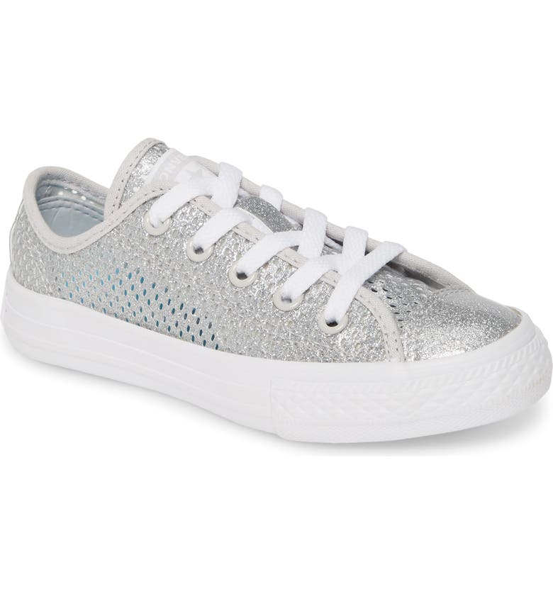 CONVERSE Chuck Taylor<sup>®</sup> All Star<sup>®</sup> Glitter Mesh Sneaker, Main, color, 040