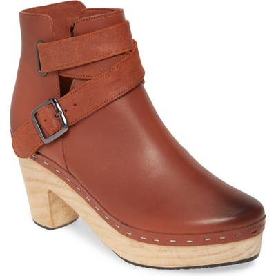 Free People Bungalow Clog Boot, Brown