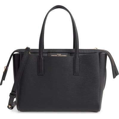 Marc Jacobs The Protege Mini Leather Tote - Black