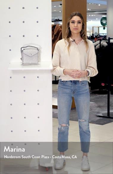 Micro Atlas Leather Crossbody Bag, sales video thumbnail