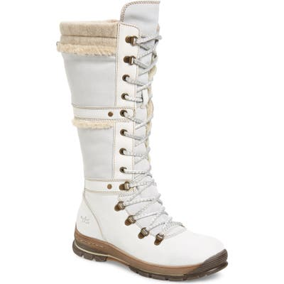 Bos. & Co. Gabriella Waterproof Boot - White