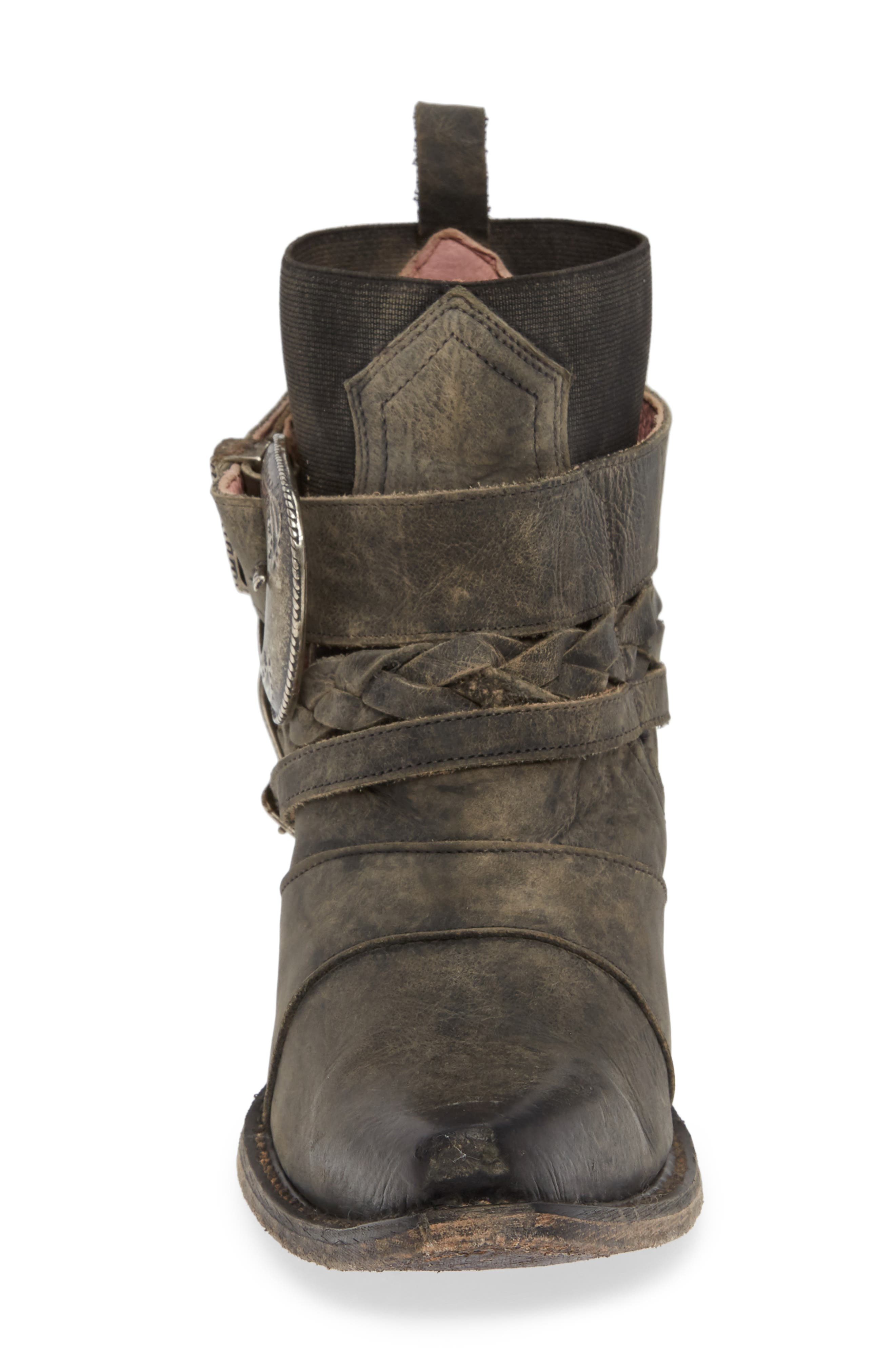 ,                             x Junk Gypsy HWY 237 Bootie,                             Alternate thumbnail 4, color,                             BLACK LEATHER