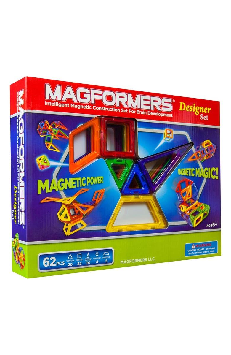MAGFORMERS 'Designer' Construction Set, Main, color, MULTI