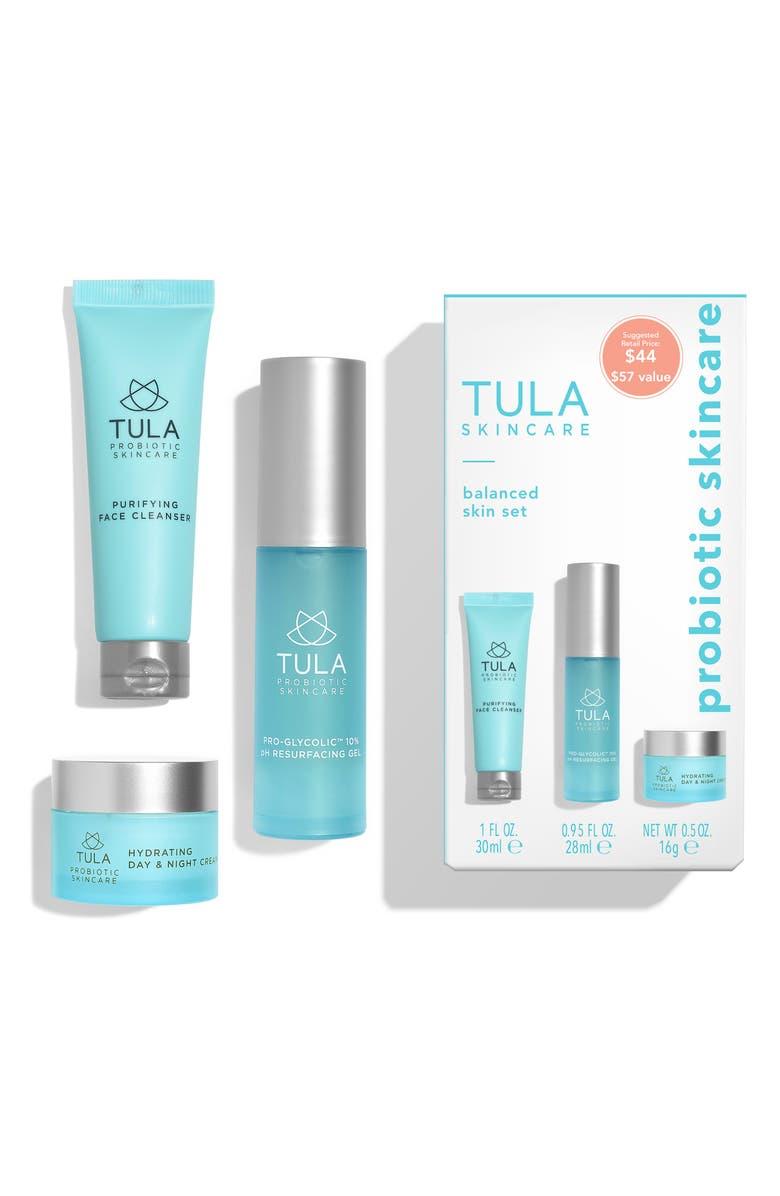 TULA PROBIOTIC SKINCARE Tula Probiotic Skin Care Balanced Skin Set, Main, color, NO COLOR