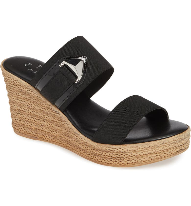 TUSCANY BY EASY STREET<SUP>®</SUP> Marisole Platform Wedge Sandal, Main, color, 001