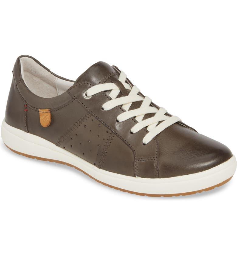 JOSEF SEIBEL Caren 01 Sneaker, Main, color, GRIGIO LEATHER