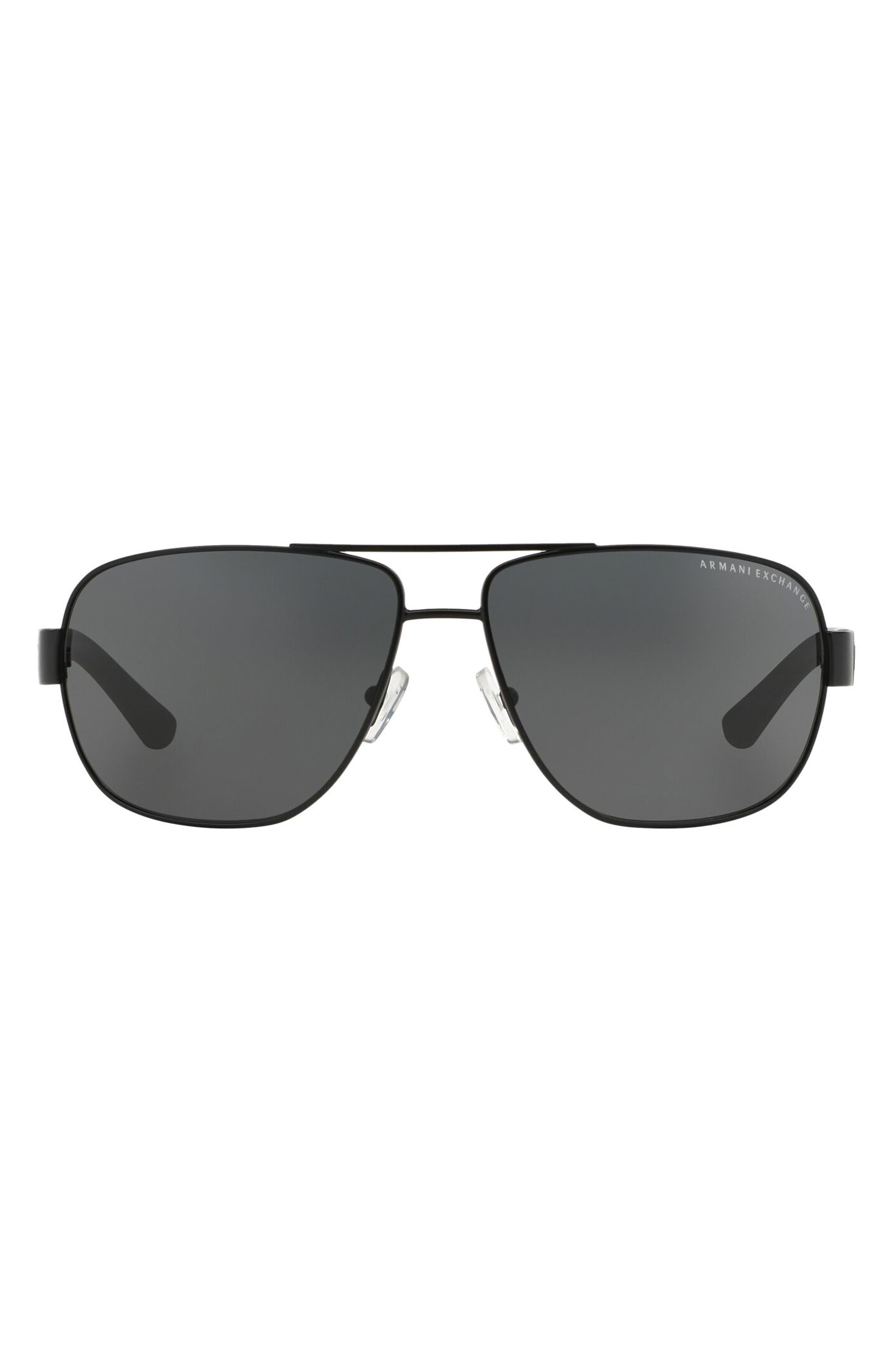 64mm Oversize Aviator Sunglasses